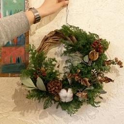 クリスマスリースWS_f0130259_15145986.jpg