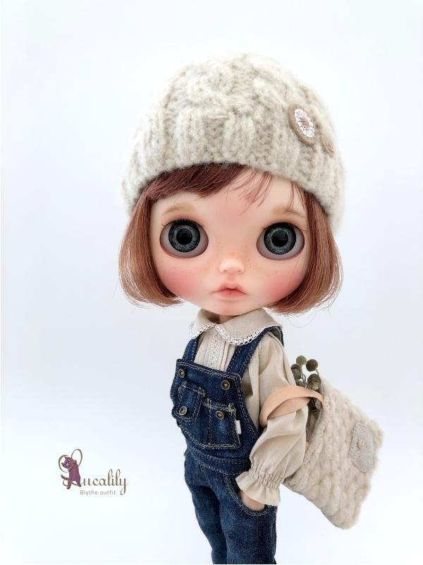 *lucalily * dolls clothes* Denim salopette pants *_d0217189_23481477.jpg