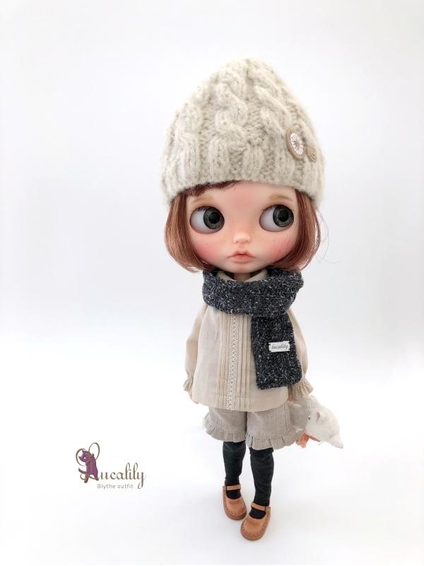 *lucalily * dolls clothes* Denim salopette pants *_d0217189_23482830.jpg