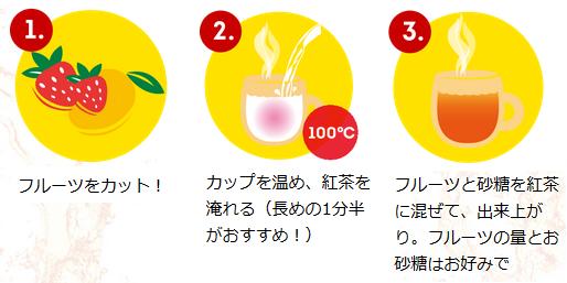 【RSP73】紅茶×フルーツ×HOT!『フルーツインティーシリーズ』Liptonリプトン_a0057402_13001060.png