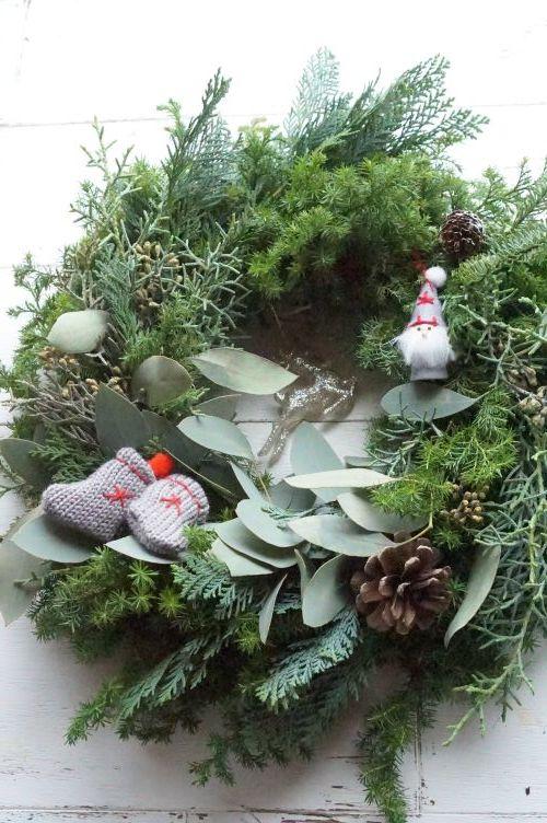 お孫さんへのクリスマスリース_b0151911_17455391.jpg