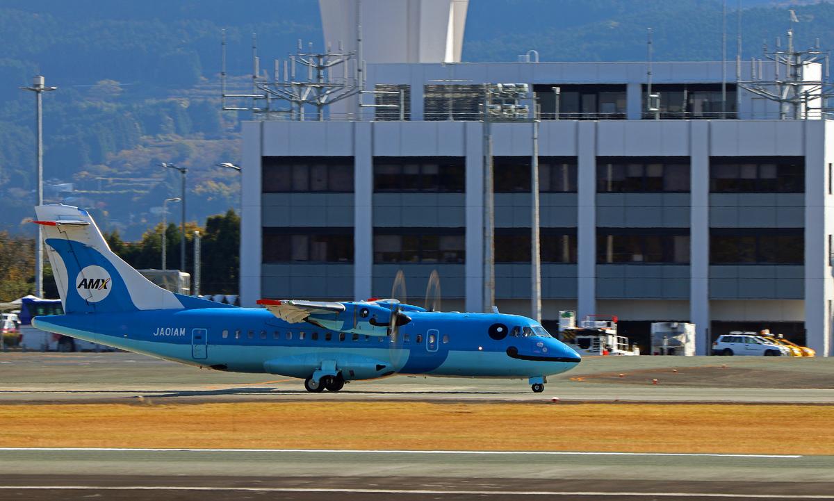 昨日の阿蘇熊本飛行場。_b0044115_04572327.jpg