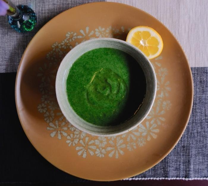 七面鳥ディナーとイラクサのスープ/ Turkey Roast and Nettle Soyp_e0310424_20232394.jpeg