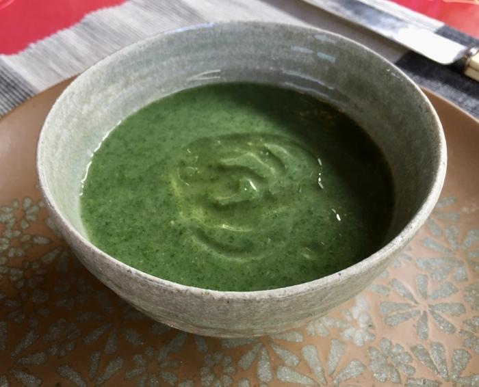 七面鳥ディナーとイラクサのスープ/ Turkey Roast and Nettle Soyp_e0310424_20241167.jpeg