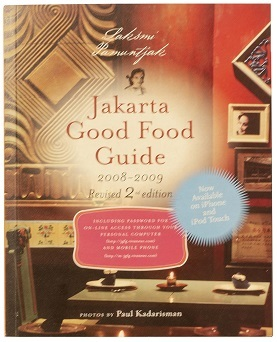 新刊:JAKARTA GOOD FOOD GUIDE( Laksmi Pamuntjak著)インドネシアのレストラン500_a0054926_09194212.jpg