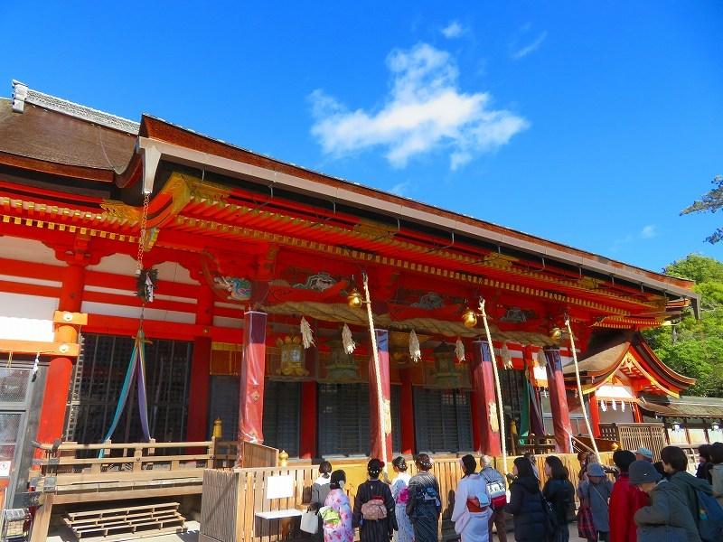 八坂神社の参拝20191129_e0237645_11270224.jpg