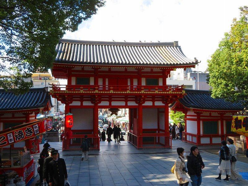 八坂神社の参拝20191129_e0237645_11270294.jpg