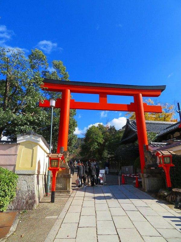八坂神社の参拝20191129_e0237645_11270378.jpg