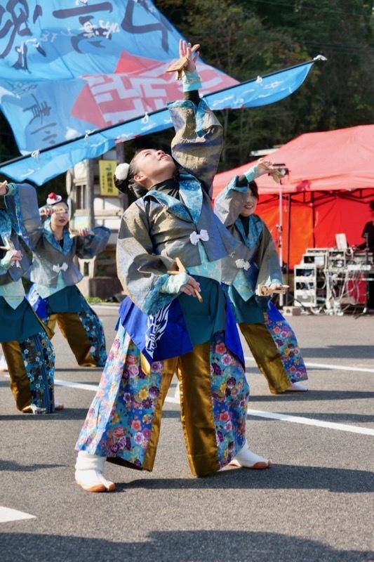 2018日原らっせによさこい祭りその7(長州青組)_a0009554_11110116.jpg