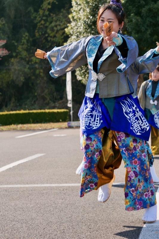 2018日原らっせによさこい祭りその7(長州青組)_a0009554_11110577.jpg