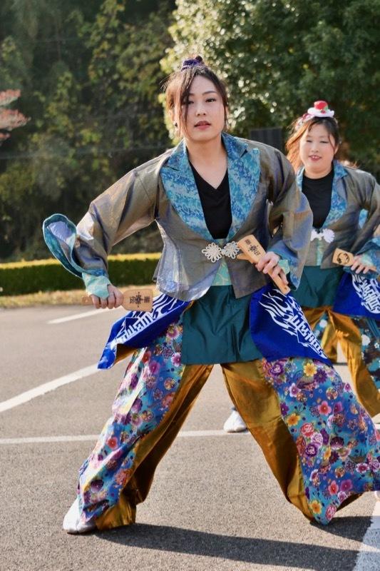 2018日原らっせによさこい祭りその7(長州青組)_a0009554_11110972.jpg