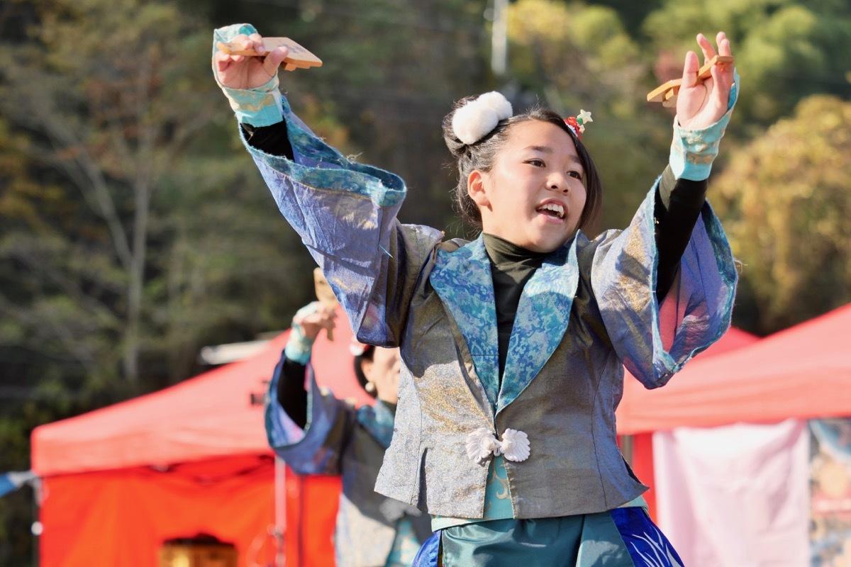 2018日原らっせによさこい祭りその7(長州青組)_a0009554_11115450.jpg