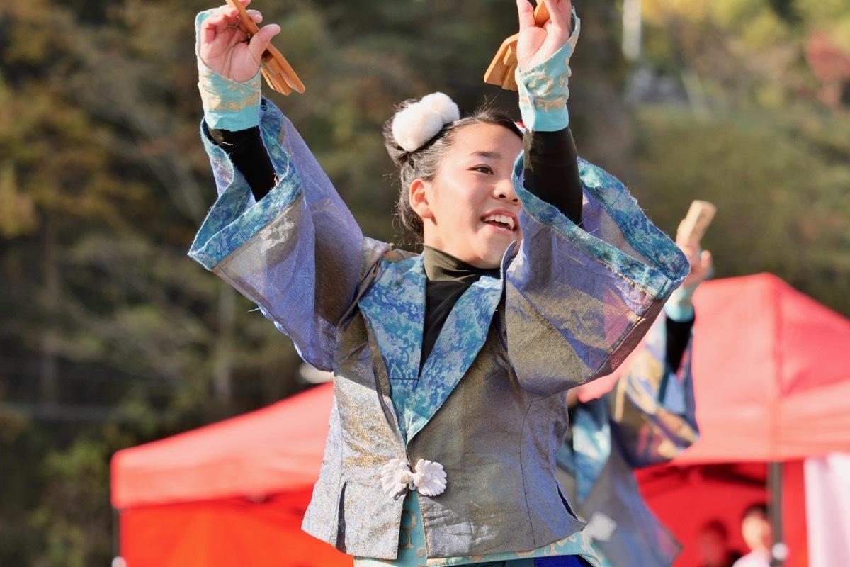 2018日原らっせによさこい祭りその7(長州青組)_a0009554_11121041.jpg
