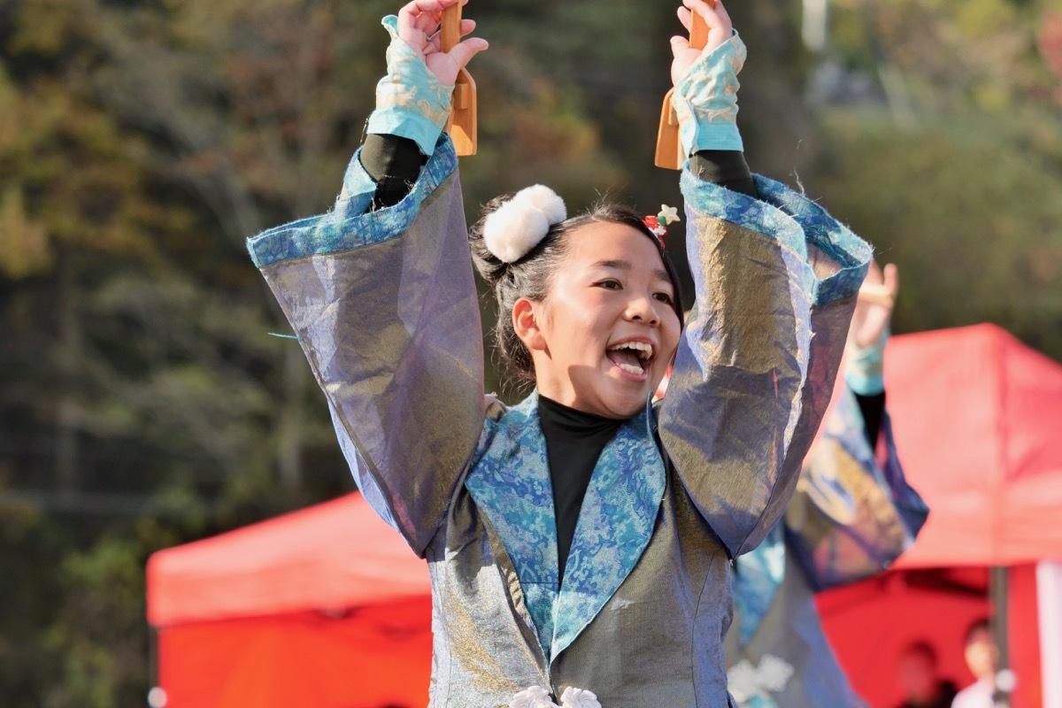 2018日原らっせによさこい祭りその7(長州青組)_a0009554_11121438.jpg