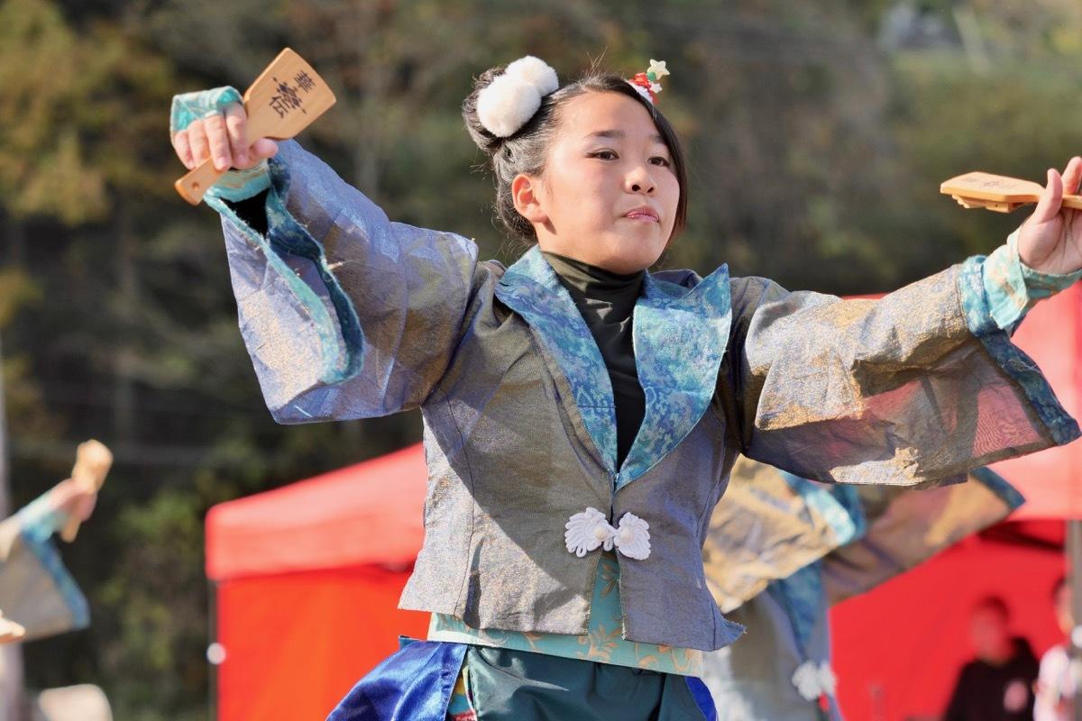 2018日原らっせによさこい祭りその7(長州青組)_a0009554_11122267.jpg