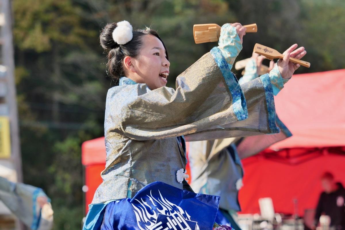 2018日原らっせによさこい祭りその7(長州青組)_a0009554_11122448.jpg