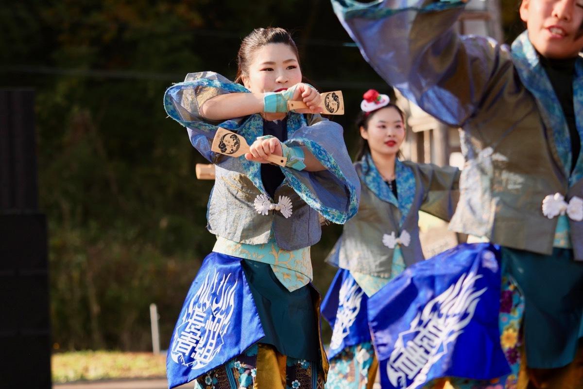 2018日原らっせによさこい祭りその7(長州青組)_a0009554_11124159.jpg