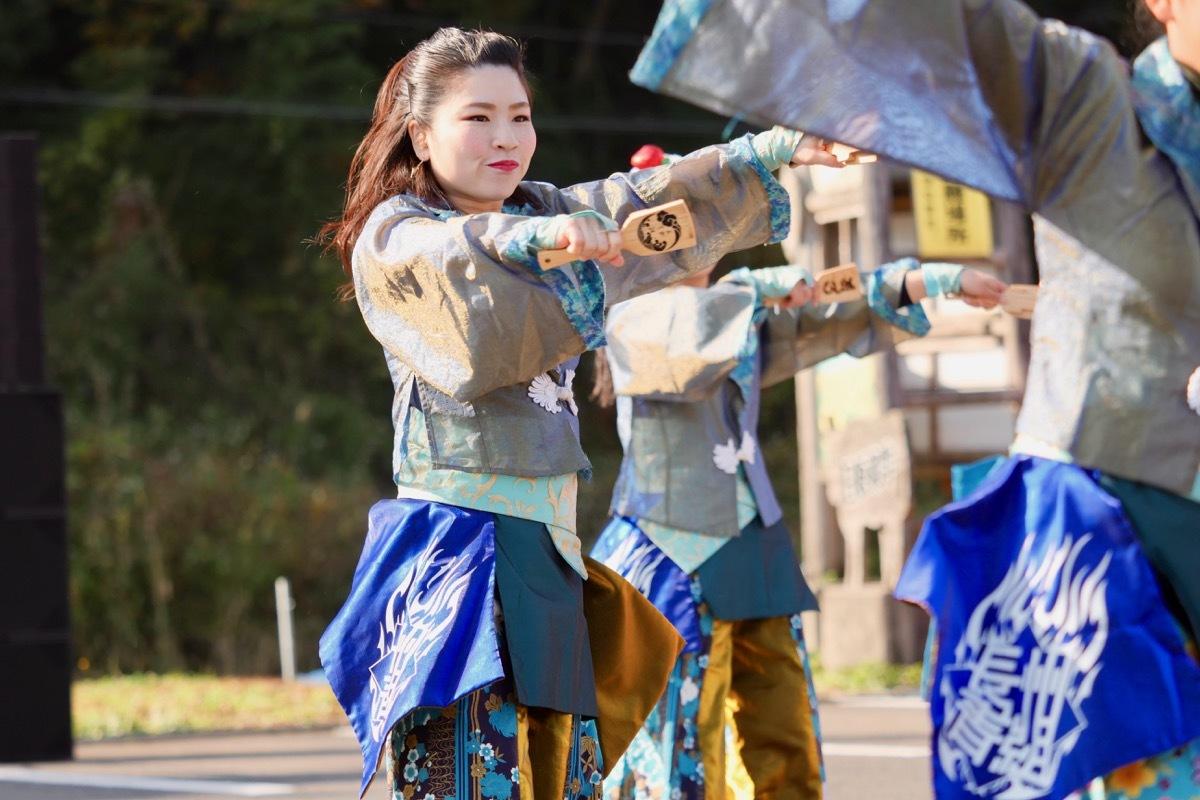 2018日原らっせによさこい祭りその7(長州青組)_a0009554_11124567.jpg
