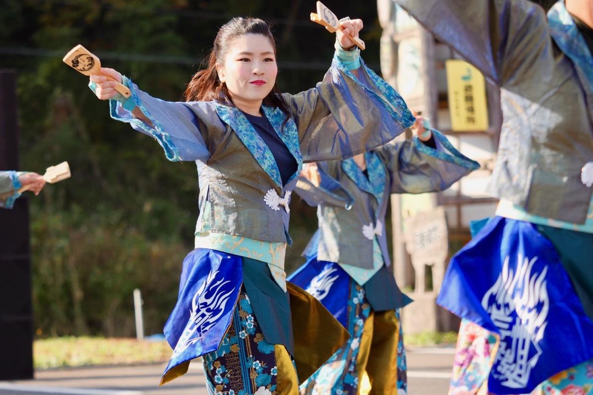 2018日原らっせによさこい祭りその7(長州青組)_a0009554_11124595.jpg