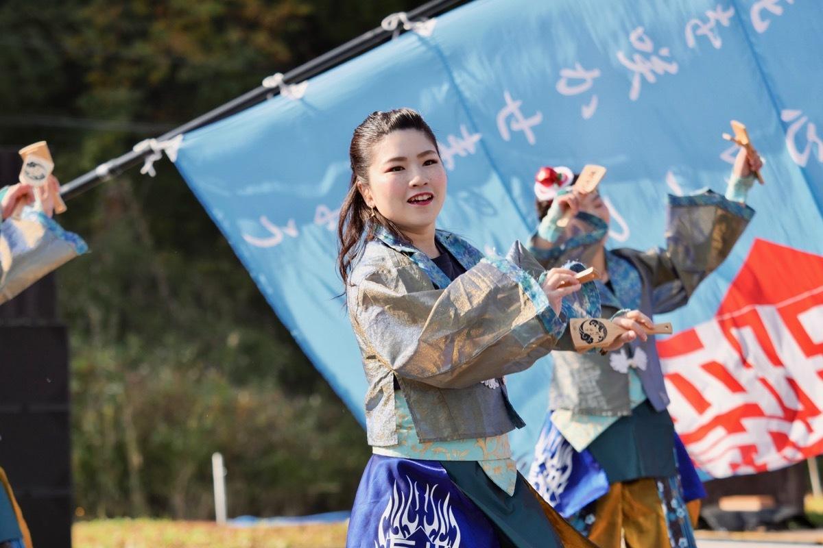 2018日原らっせによさこい祭りその7(長州青組)_a0009554_11125412.jpg