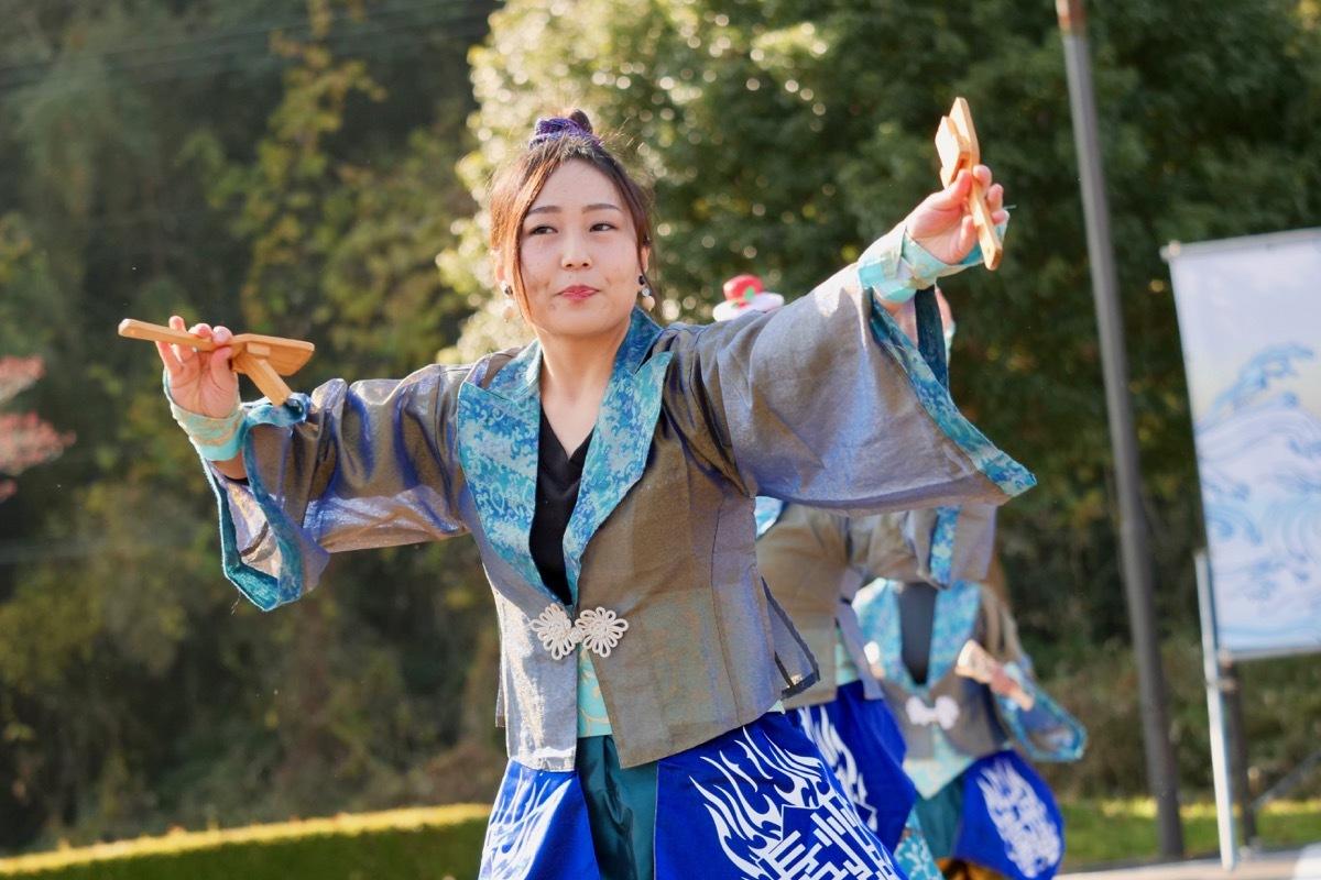 2018日原らっせによさこい祭りその7(長州青組)_a0009554_11130537.jpg