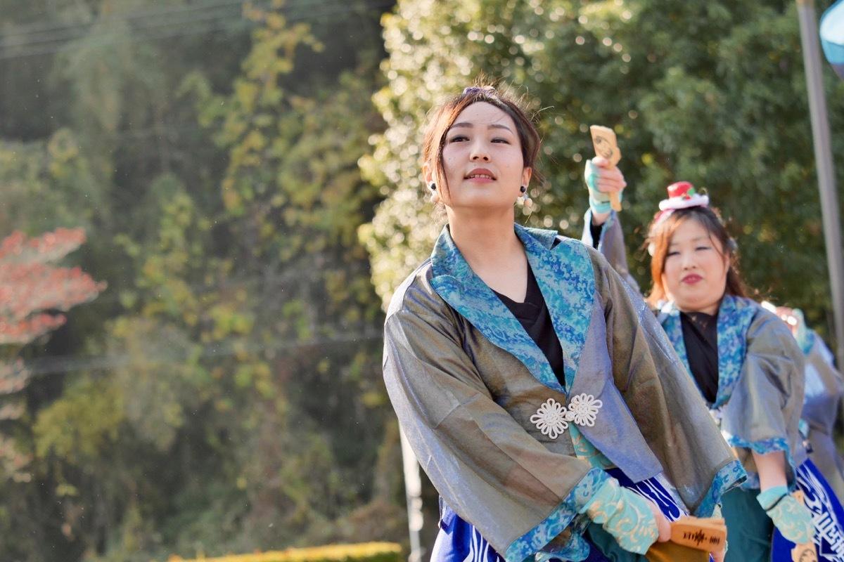 2018日原らっせによさこい祭りその7(長州青組)_a0009554_11131272.jpg