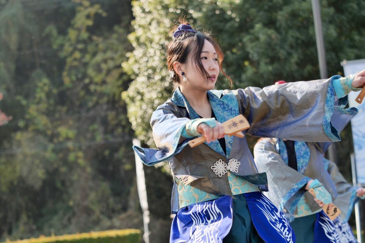 2018日原らっせによさこい祭りその7(長州青組)_a0009554_11132034.jpg