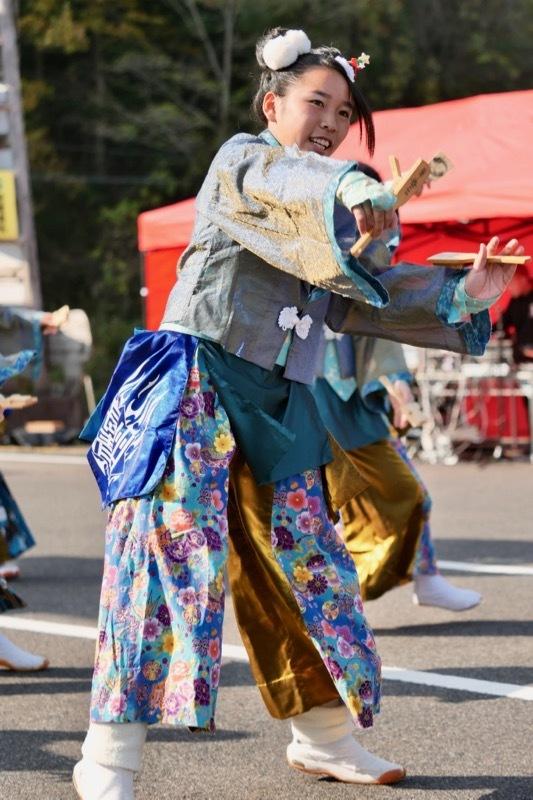 2018日原らっせによさこい祭りその7(長州青組)_a0009554_11133023.jpg