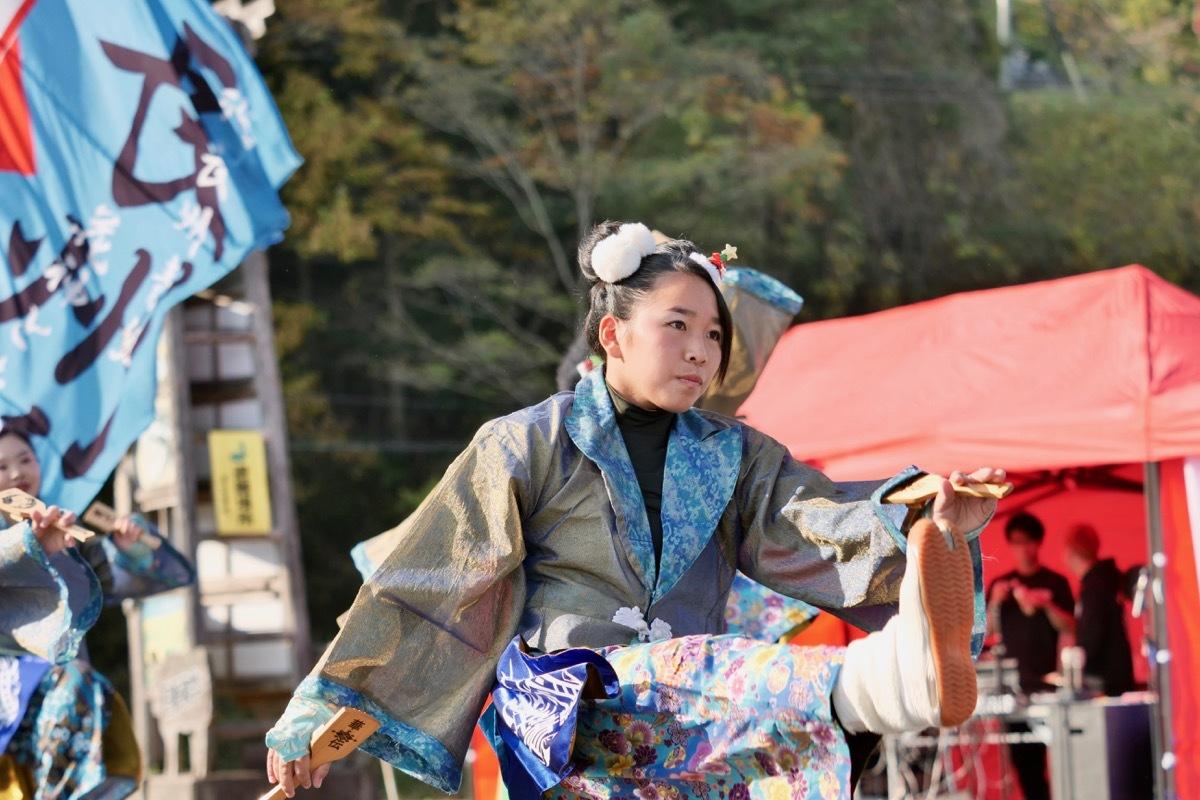 2018日原らっせによさこい祭りその7(長州青組)_a0009554_11135155.jpg