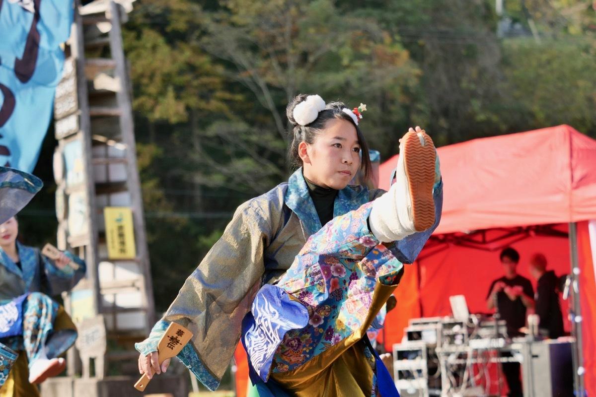 2018日原らっせによさこい祭りその7(長州青組)_a0009554_11135294.jpg