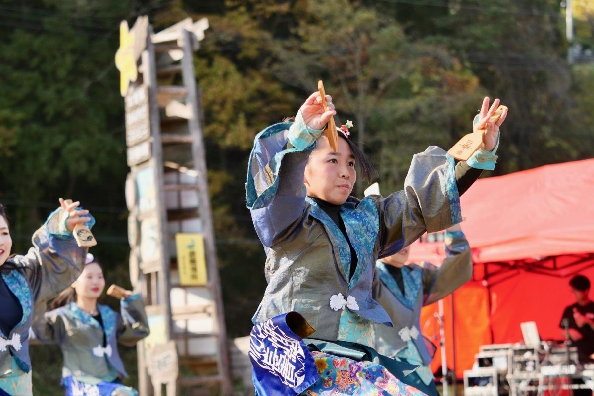 2018日原らっせによさこい祭りその7(長州青組)_a0009554_11135476.jpg
