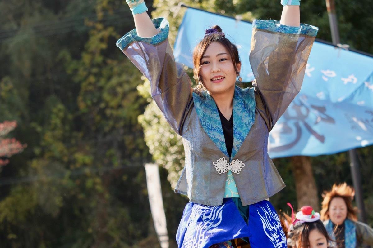 2018日原らっせによさこい祭りその7(長州青組)_a0009554_11135756.jpg