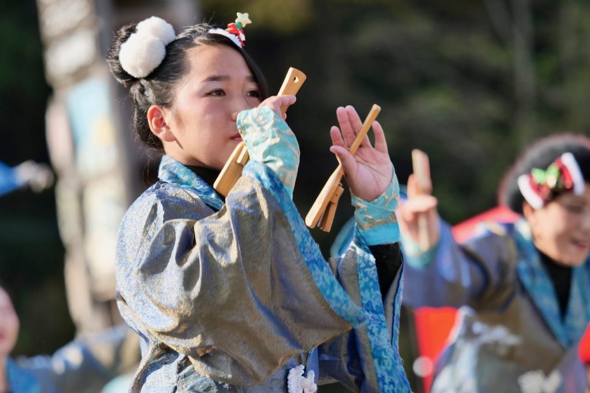 2018日原らっせによさこい祭りその7(長州青組)_a0009554_11141718.jpg