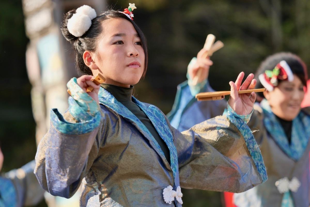 2018日原らっせによさこい祭りその7(長州青組)_a0009554_11142164.jpg