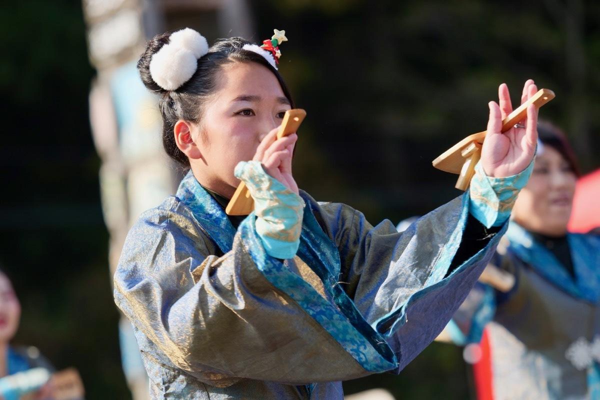 2018日原らっせによさこい祭りその7(長州青組)_a0009554_11143055.jpg
