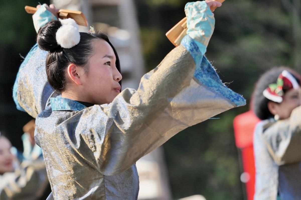 2018日原らっせによさこい祭りその7(長州青組)_a0009554_11143402.jpg