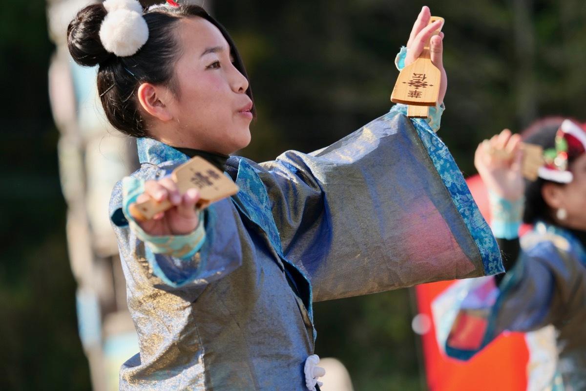 2018日原らっせによさこい祭りその7(長州青組)_a0009554_11143712.jpg