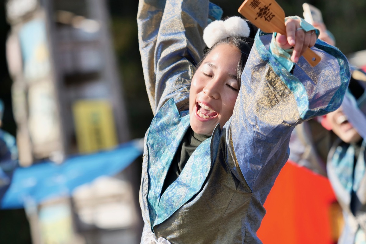 2018日原らっせによさこい祭りその7(長州青組)_a0009554_11144539.jpg