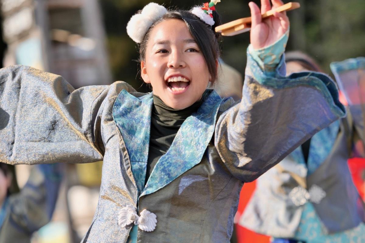 2018日原らっせによさこい祭りその7(長州青組)_a0009554_11145595.jpg