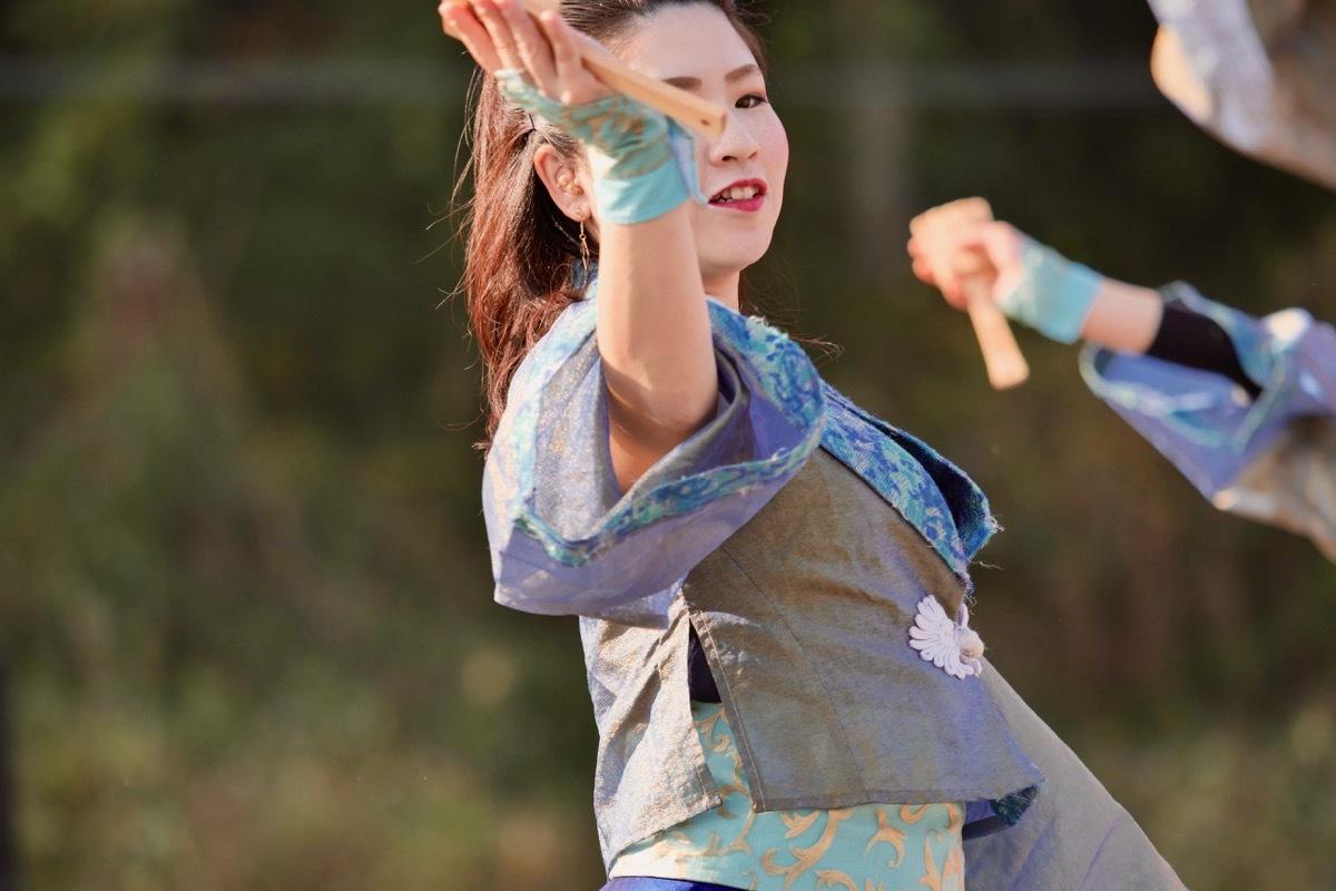 2018日原らっせによさこい祭りその7(長州青組)_a0009554_11150383.jpg