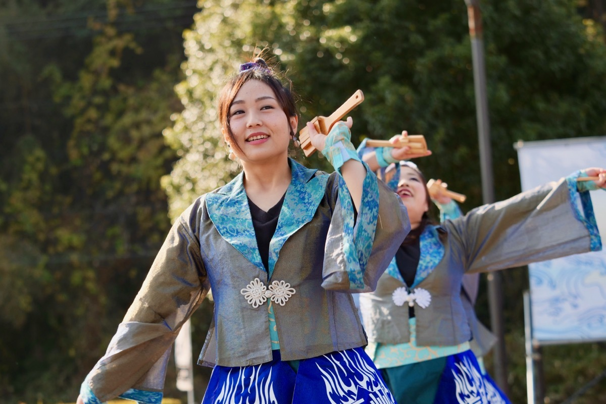 2018日原らっせによさこい祭りその7(長州青組)_a0009554_11151187.jpg