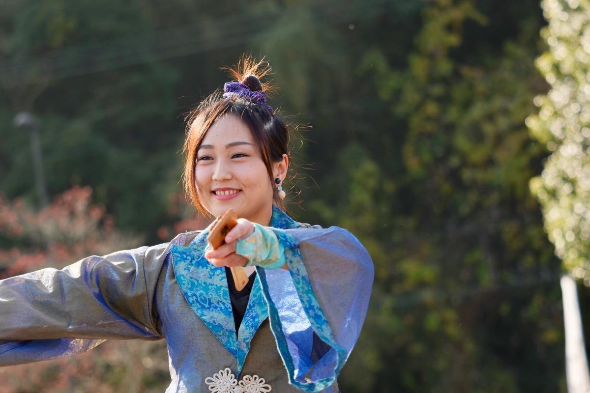 2018日原らっせによさこい祭りその7(長州青組)_a0009554_11152943.jpg