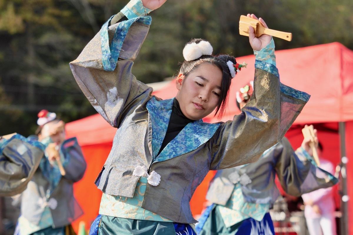 2018日原らっせによさこい祭りその7(長州青組)_a0009554_11153536.jpg