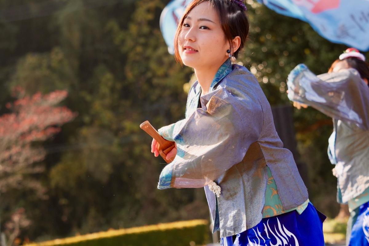 2018日原らっせによさこい祭りその7(長州青組)_a0009554_11153855.jpg