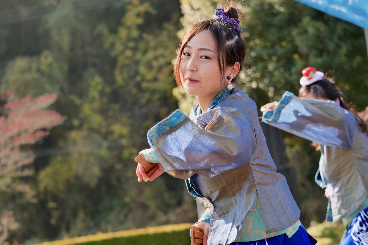 2018日原らっせによさこい祭りその7(長州青組)_a0009554_11160159.jpg