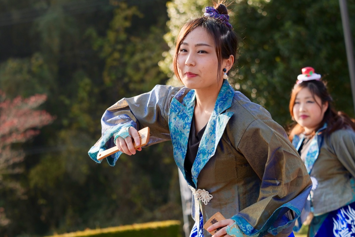2018日原らっせによさこい祭りその7(長州青組)_a0009554_11161059.jpg