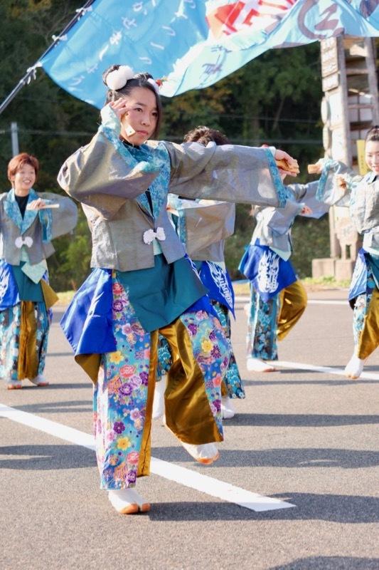 2018日原らっせによさこい祭りその7(長州青組)_a0009554_11161507.jpg