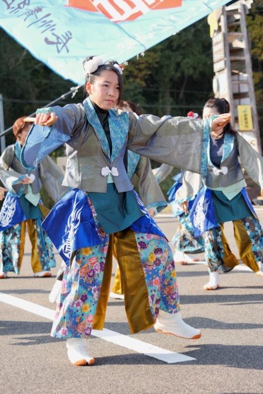 2018日原らっせによさこい祭りその7(長州青組)_a0009554_11162326.jpg