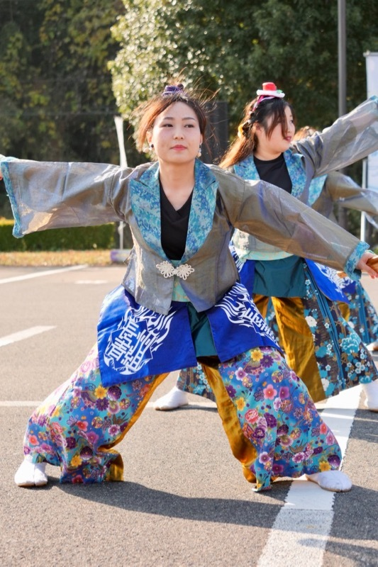 2018日原らっせによさこい祭りその7(長州青組)_a0009554_11162669.jpg