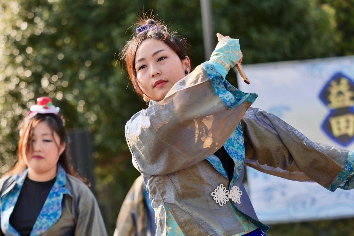2018日原らっせによさこい祭りその7(長州青組)_a0009554_11163789.jpg
